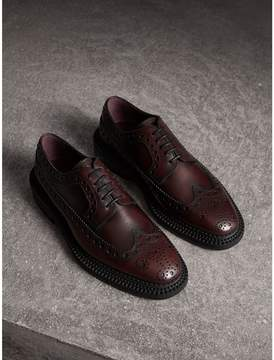 Burberry Leather Derby Brogues