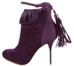 Sophia Webster Kendell Fringed Ankle Boots