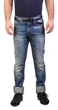 Christian Dior Men's Bleu Marine Slim Fit Denim Jeans Pants Light Blue.