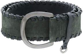 Sonia Rykiel whipstitch belt