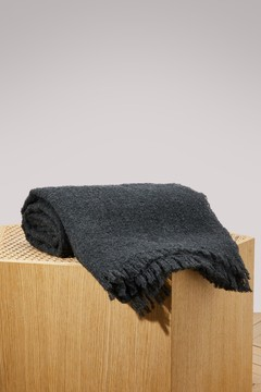 Rick Owens Wool and cashmere scarf
