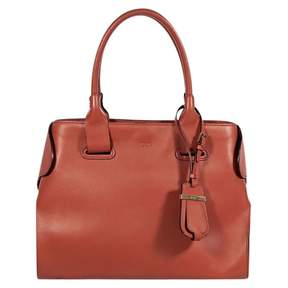 Tod's Orange Leather Handbag