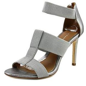 Elie Tahari Seneca Open Toe Leather Sandals.