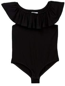 Love, Fire Ruffle Bodysuit (Big Girls)