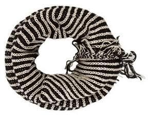 Donni Charm Knit Fringe Snood