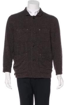 Billy Reid Wool Herringbone Chore Jacket