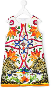Dolce & Gabbana Maiolica print dress