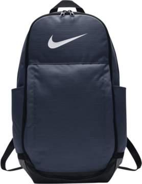 Nike Brasilia X-Large Backpack - Midnight Navy/Black/White