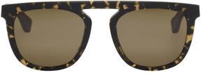Maison Margiela Beige and Black Mykita Edition MMRAW004 Sunglasses