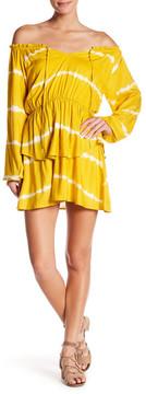 Dee Elly Otis Tie Dye Tiered Dress