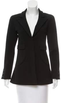 Chanel Wool Peak-Lapel Jacket