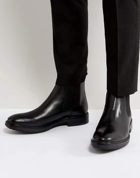 Base London Dalton Leather Chelsea Boots