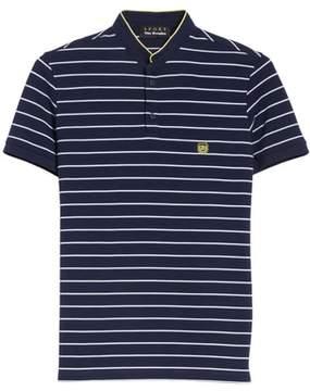 The Kooples Stripe Officer Polo Shirt