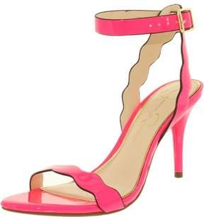Jessica Simpson Women's Morena Patent Laser Pink Ankle-High Pump - 7.5M