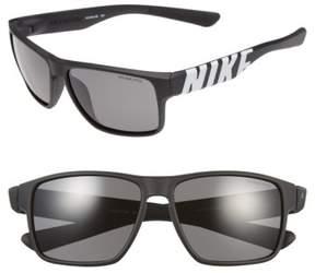 Nike 'Mojo' 59Mm Sunglasses - Matte Black/ Volt