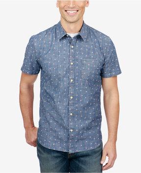 Lucky Brand Men's Floral-Print Ballona Shirt