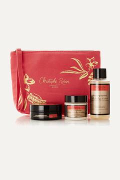 Christophe Robin - Regenerating Hair Ritual Travel Kit - Colorless