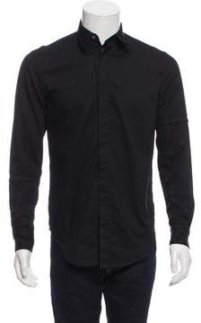 3.1 Phillip Lim Distressed Button-Up Shirt