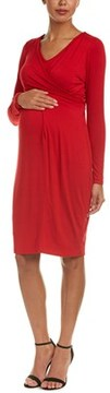 Everly Grey Maternity Sloan Midi Dress.