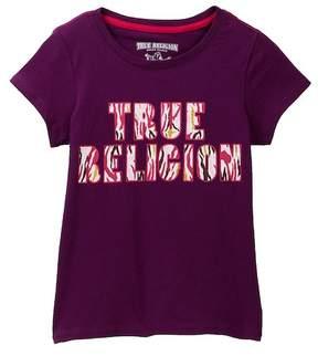 True Religion TR Glitter Puff Tee (Big Girls)