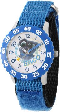 Disney Boys Blue Strap Watch-Wds000436