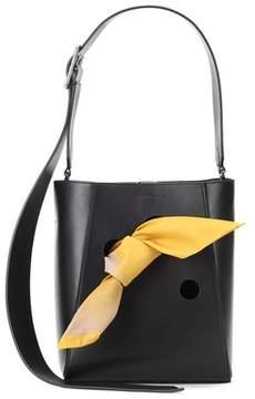 Calvin Klein Small leather bucket bag