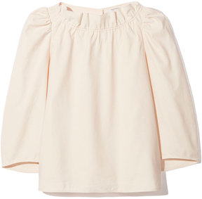 Atlantique Ascoli Rhapsodie Blouse in Powder Blush Linon, L