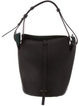 Burberry The Small Leather Bucket Bag