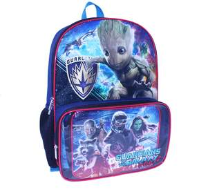 Marvel Kids Guardians of the Galaxy Vol. 2 Groot, Rocket Racoon & Star-Lord Backpack & Lunch Bag Set