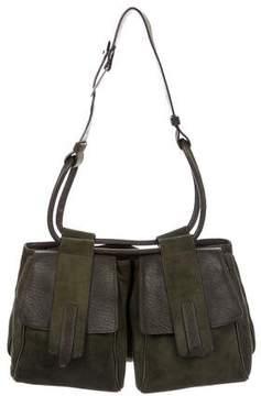 Hogan Suede Shoulder Bag