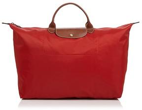Longchamp Le Pliage Nylon Weekender - BURNT RED - STYLE