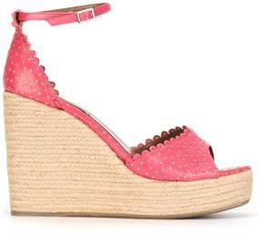 Tabitha Simmons 'Harp' wedge sandals