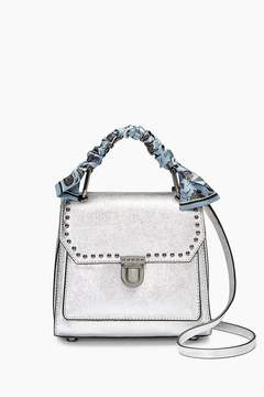 Rebecca Minkoff St. Tropez Small Satchel With Scarf - RED - STYLE