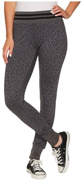 Converse Animal Print Leggings Women's Casual Pants