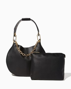 Charming charlie Milena Chain Hobo Bag-In-Bag