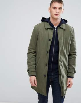 Selected Homme+ Trench With Removable Quilted Lining