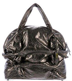Michael Kors Metallic Leather Shoulder Bag - METALLIC - STYLE