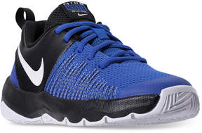 Nike Boys' Team Hustle Quick Basketball Sneakers from Finish Line