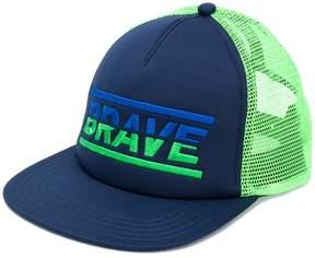 Diesel front printed cap