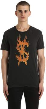 Ksubi Travis Scott Flaming Dollar T-Shirt