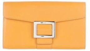 Roger Vivier Leather Buckle Wallet