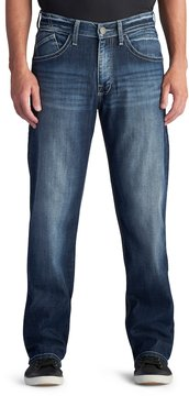 Rock & Republic Men's Crew Stretch Straight-Leg Relaxed Jeans