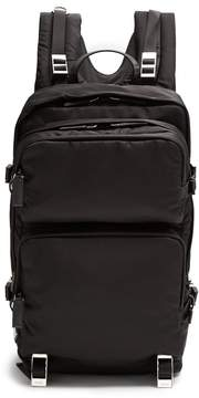 Prada Multiple pocket nylon backpack