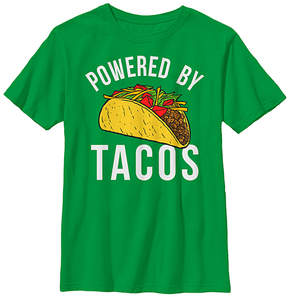 Fifth Sun Green 'Powered By Tacos' Tee - Boys