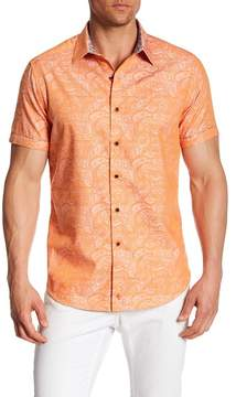Robert Graham Bell Gardens Short Sleeve Classic Fit Dress Shirt