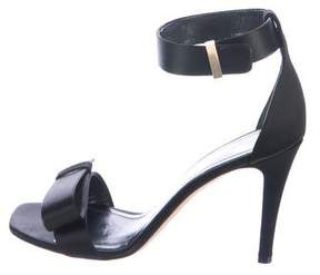 Celine Satin Bow Sandals