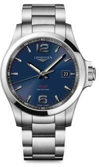 Longines Stainless Steel Bracelet Watch