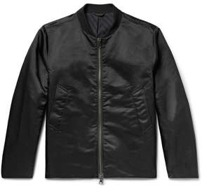 Saturdays NYC Julian Satin Bomber Jacket