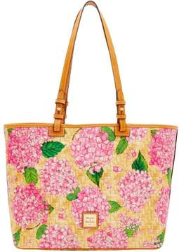 Dooney & Bourke Hydrangea Basketweave Leisure Shopper Tote - PINK - STYLE