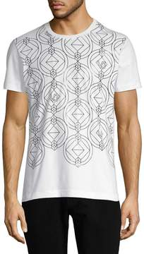 Versace Men's Diamond Print T-Shirt